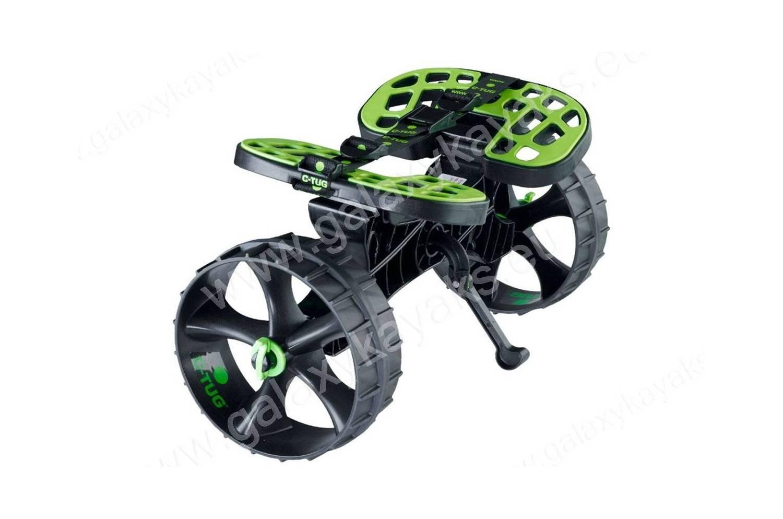 chariot kayak c tug railblaza vert et noir. Black Bedroom Furniture Sets. Home Design Ideas