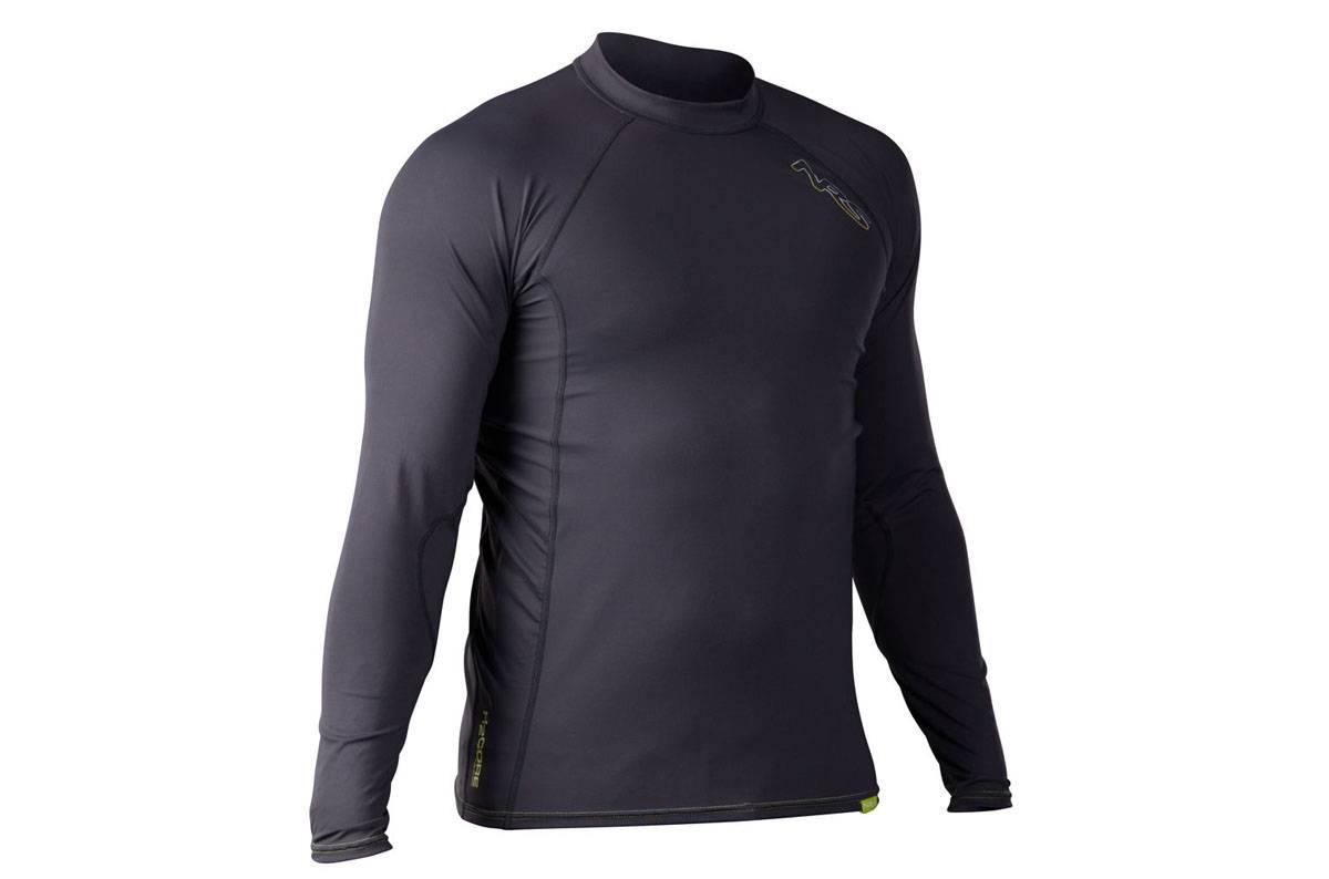 T- Shirt nautique NRS H2Core Rashguard pour homme, manches longues - Fin de série