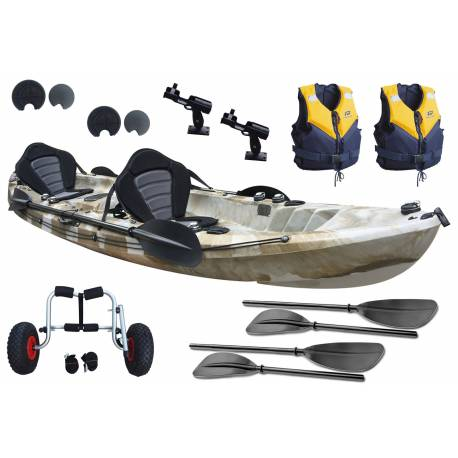 Pack start Cruz Tandem Fisher Pro