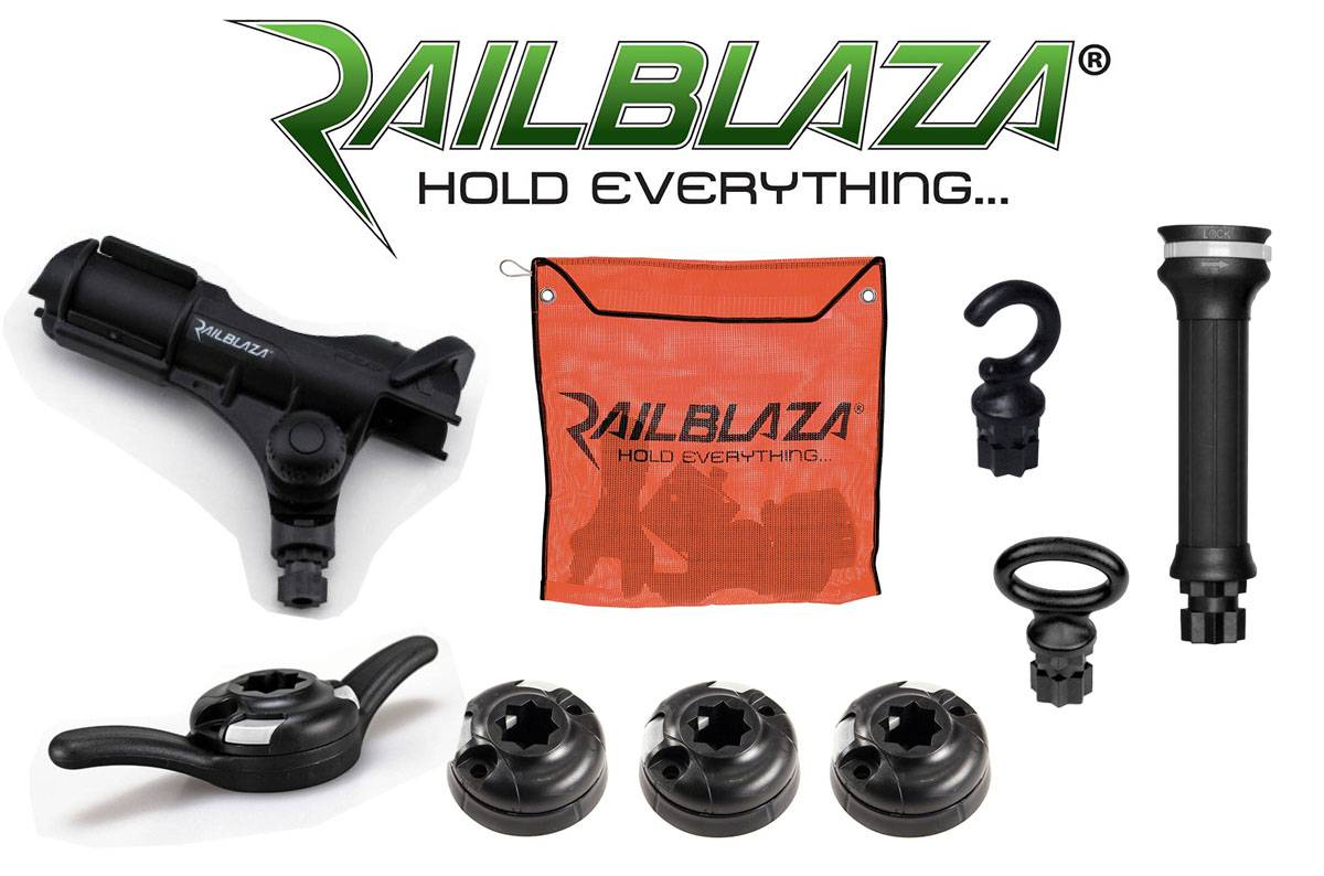 Railblaza OEM Pack 2 orange