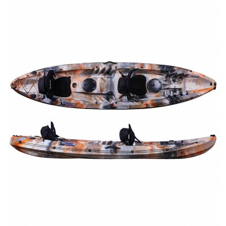 Galaxy Kayaks Cruz Tandem 2+1 solo HV