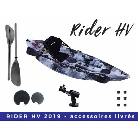 Kayak de pêche Galaxy Rider