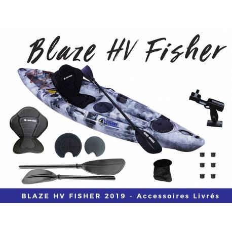 Galaxy Kayaks Blaze Fisher kayak pour la pêche