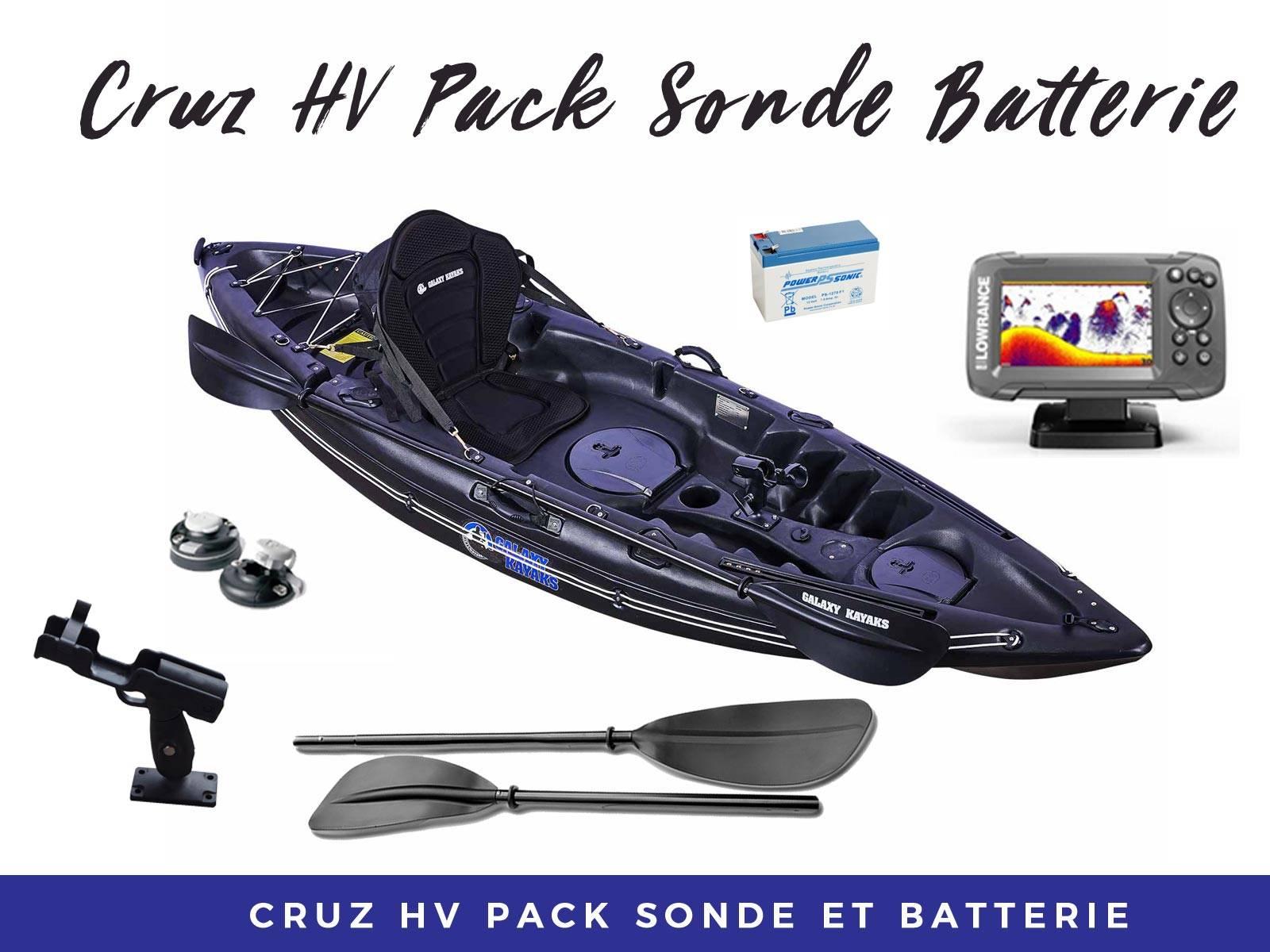 Pack Cruz Sonde Batterie