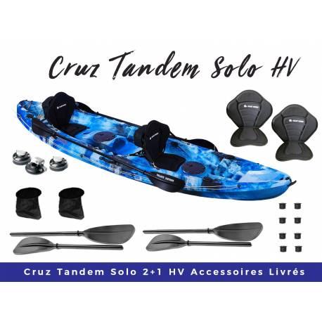 Galaxy Kayaks Cruz Tandem solo kayak de loisirs
