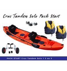 Pack start Cruz Tandem Solo HV