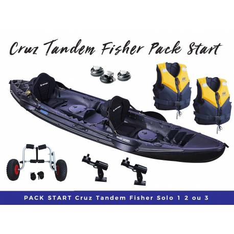 Pack start Cruz Tandem Fisher Pro
