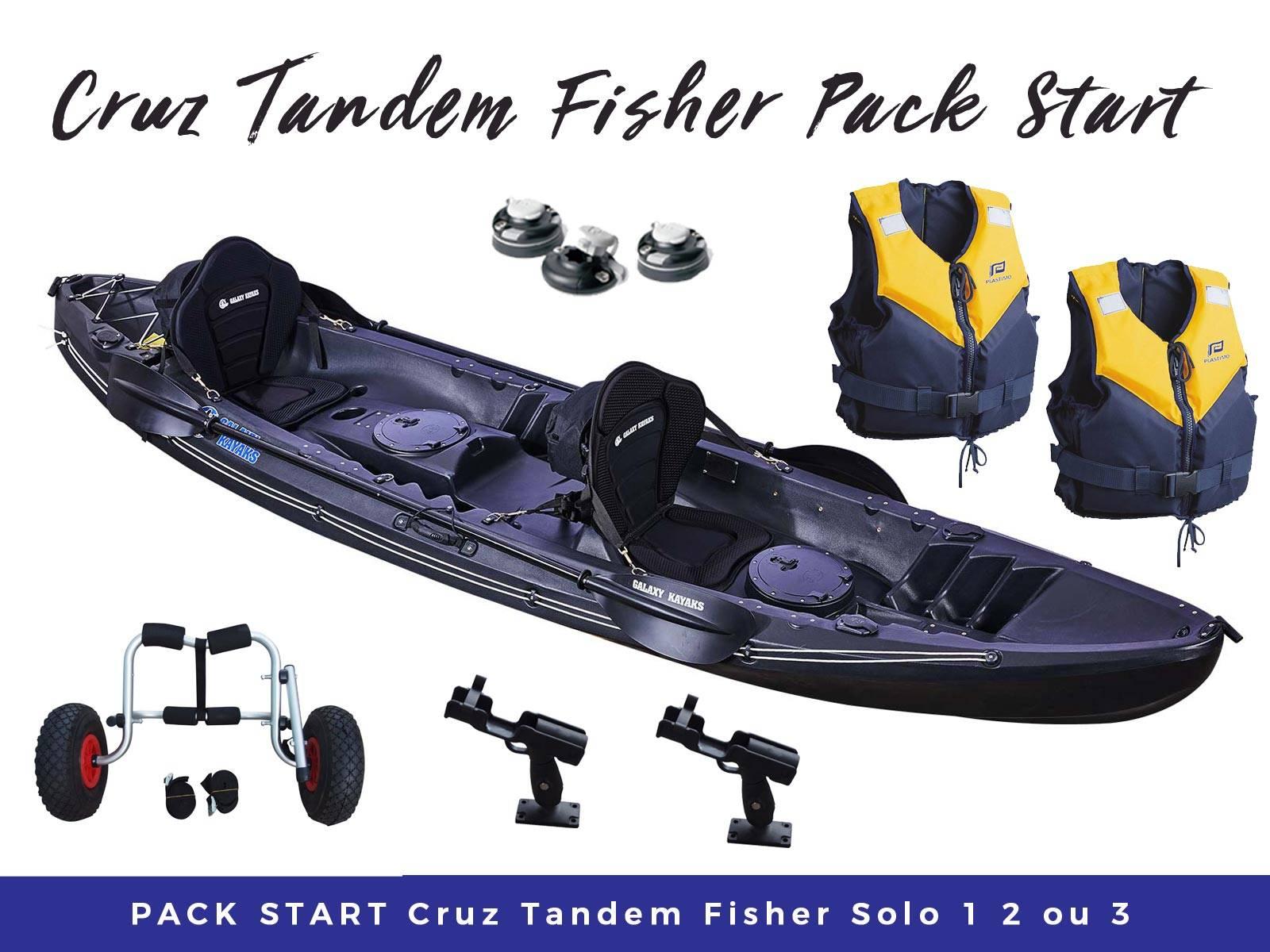 Pack start Cruz Tandem Fisher Solo